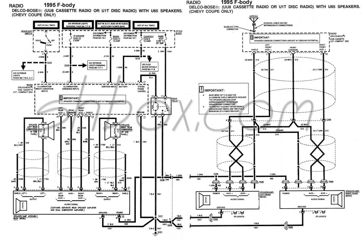 Speaker Bose Amp Wiring Diagram Amplifier