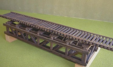 Ho Scale Wooden Bridges | Wooden Thing