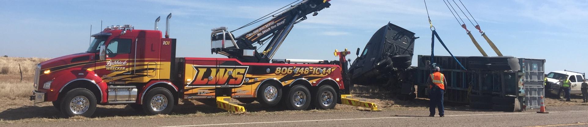 Large Truck Tow Rotator
