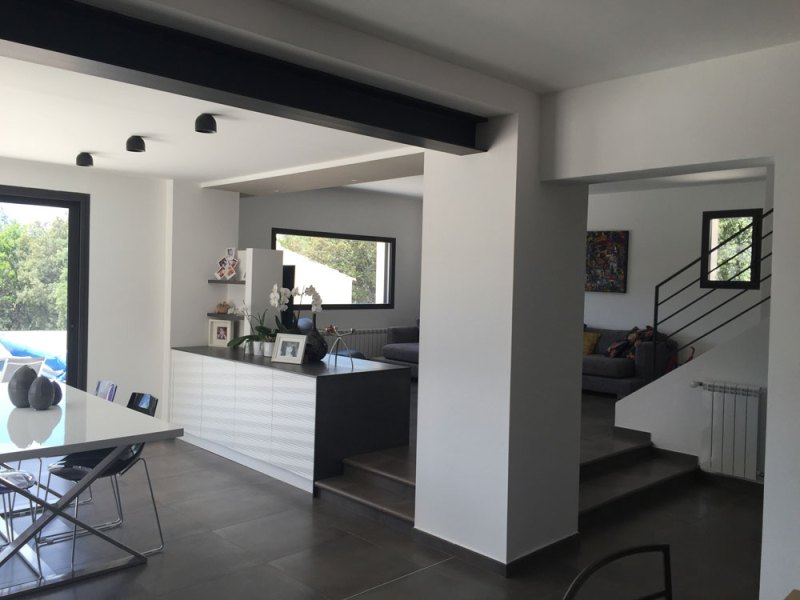 Renovation Maison  Interesting Rnovation Partielle Maison Anne     awesome rnovation duune maison par luberon batiment entreprise spcialise en  rnovation with renovation maison