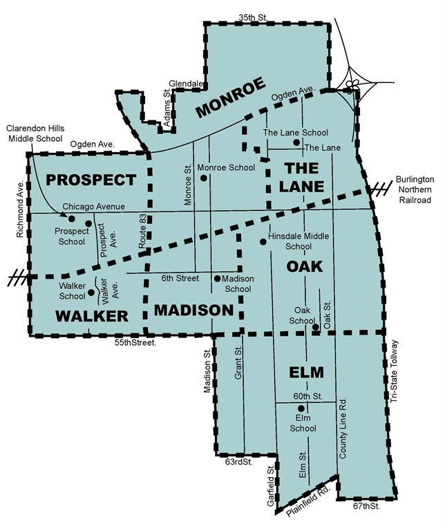 Oak Hills High School Map