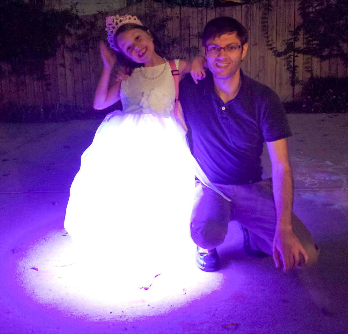 Diy Light Up Led Dress With Color Changing Rgb Leds