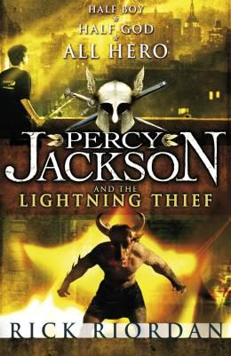 Percy Jackson and the Lightning Thief, Rick Riordan | Lulu ...