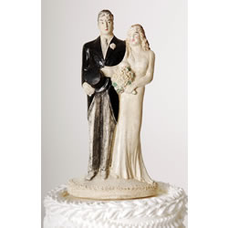 Lulu s Vintage Blog  Vintage Wedding Cake Toppers from the 1920 s     Ff5