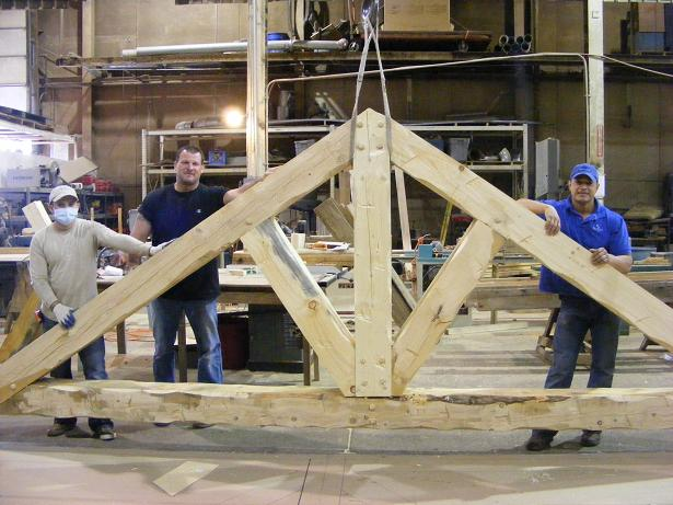 Heavy Timber Truss Designs Structural Wood Roof Truss