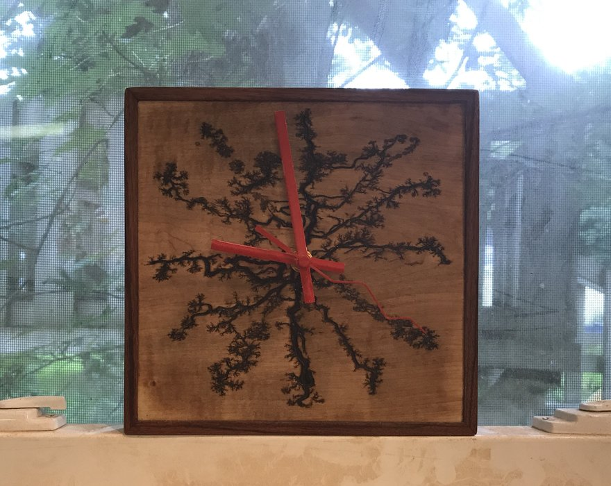 Fractal Wood Burning Machine