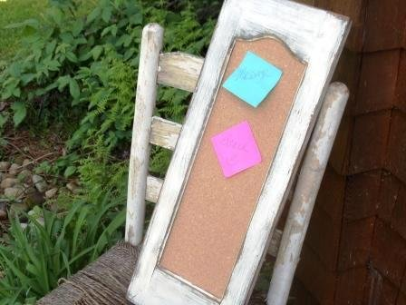 Cork Board Message Board Primitive Rustic Made From