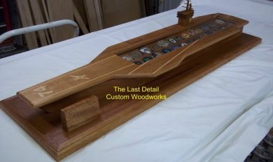 Aircraft Carrier Coins Wood | Wooden Thing