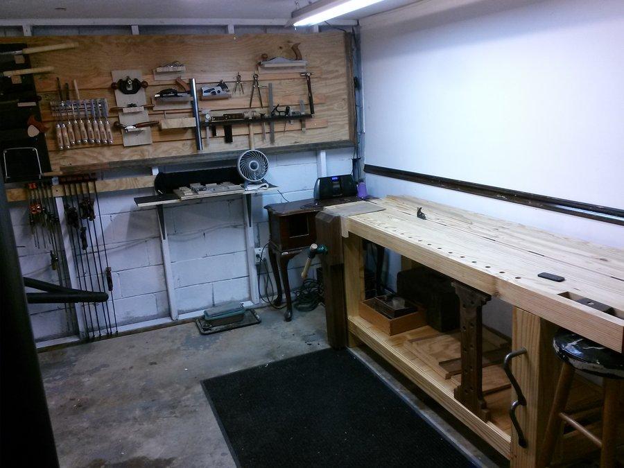 Roubo Workbench By Luqman Lumberjocks Com
