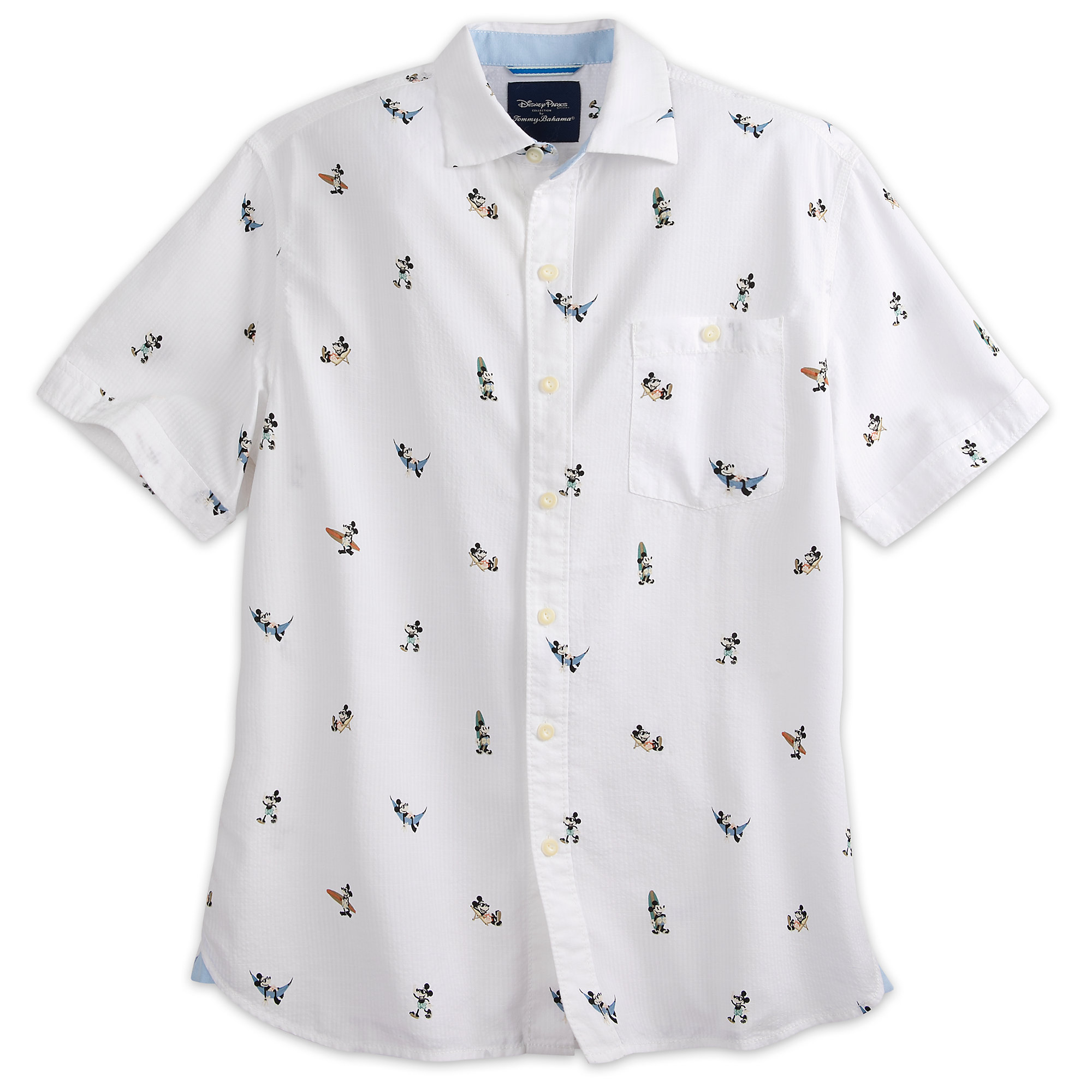 Mickey Mouse Button Shirt For Men By Tommy Bahama Shopdisney