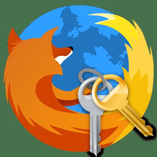 Hvor adgangskoder gemmes i Firefox