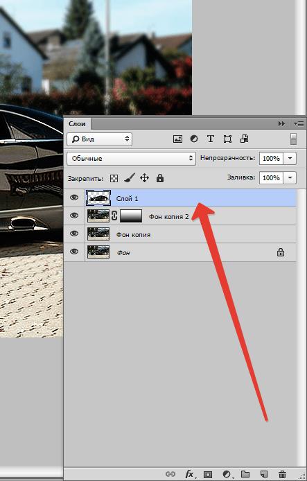 Rozostření pozadí v aplikaci Photoshop (13) \ t