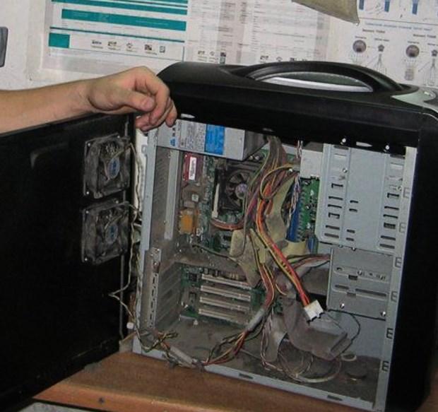 Tozlu bilgisayar
