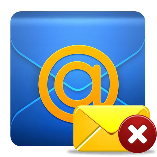 Как удалить почту в Mail