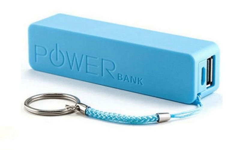 Пример маленького Power Bank для зарядки ноутбука