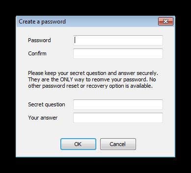 Mewujudkan kata laluan untuk profil di mana-mana Weblock