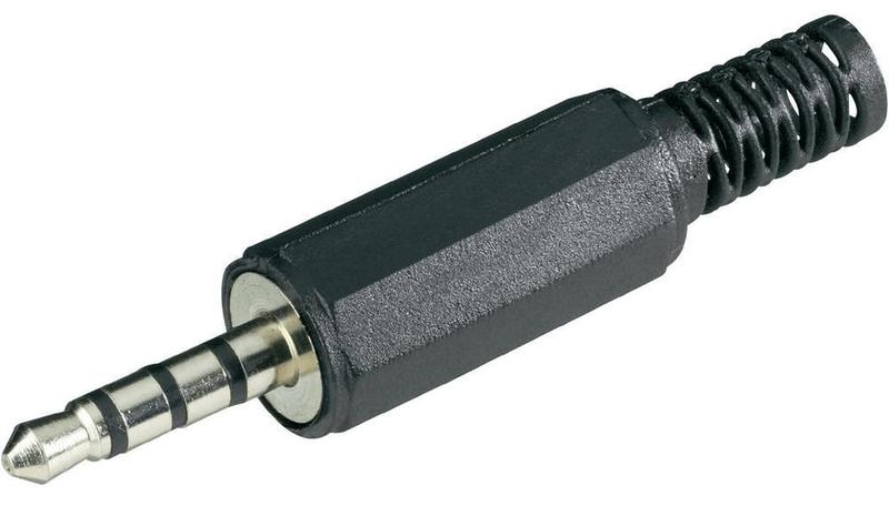 Zástrčkový příklad 3,5 mm Jack