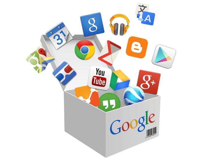 Mga Installer of Services at Google Applications.