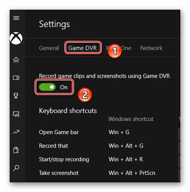 Windows 10 бағдарламасындағы ойындарға DVR функцияларын өшіріңіз