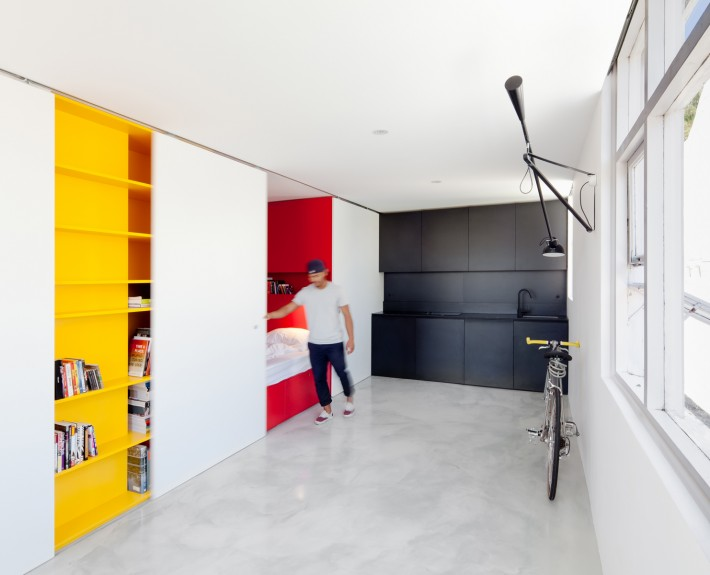 The Studio Mighty Mouse Apartment Punches Above Its Weight