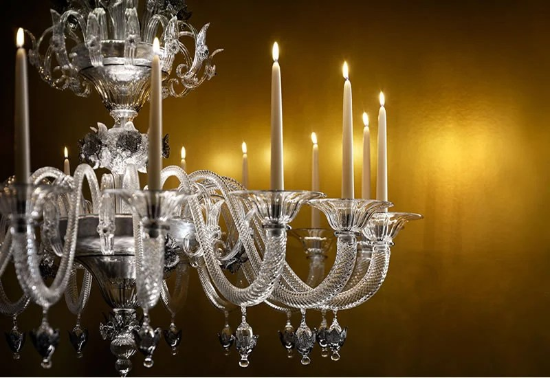 A Murano Glass Chandelier That Has The Best Of Both Worlds