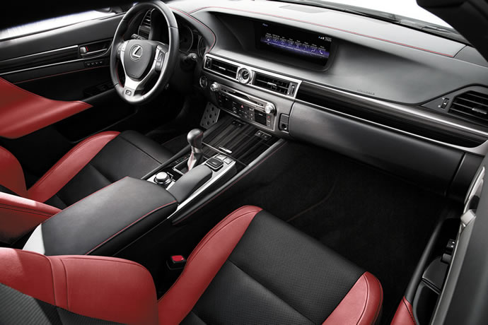 F Sport Leather Is350 Red