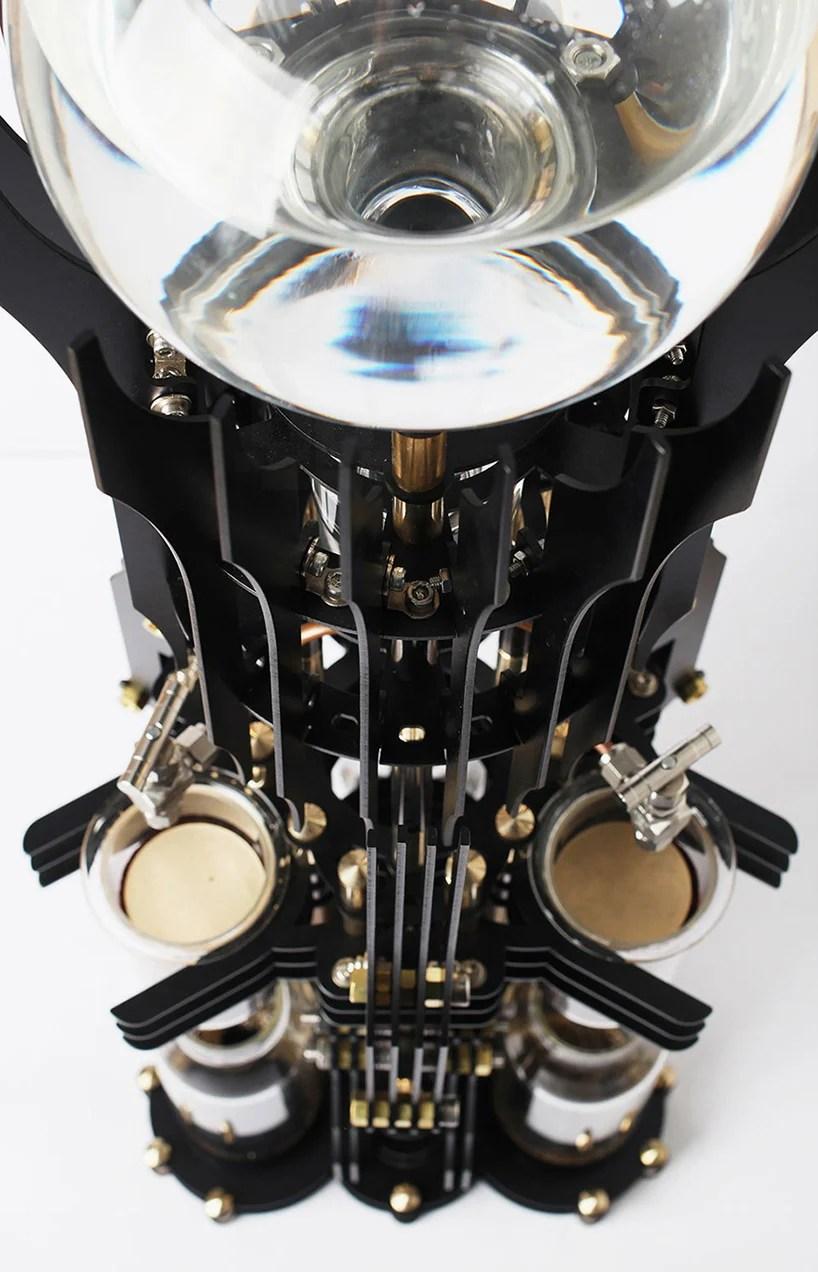 Dutch Lab Designs Steampunk Coffee Machine That Looks Like