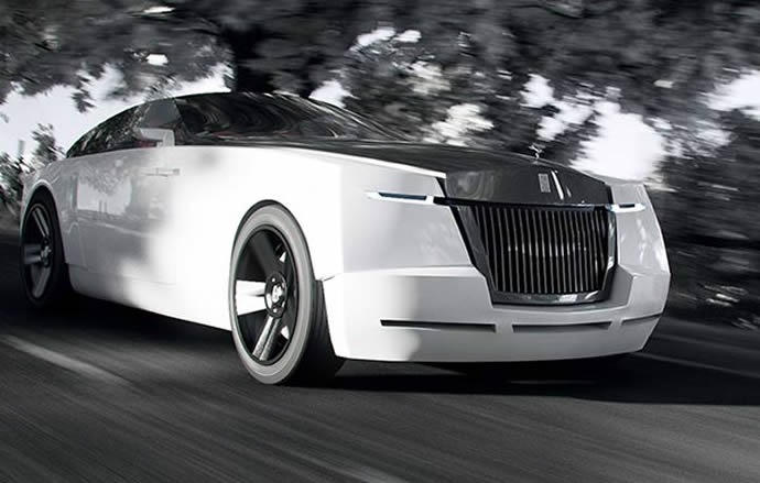 A Bizarre Rolls Royce Concept That Has A Special Something