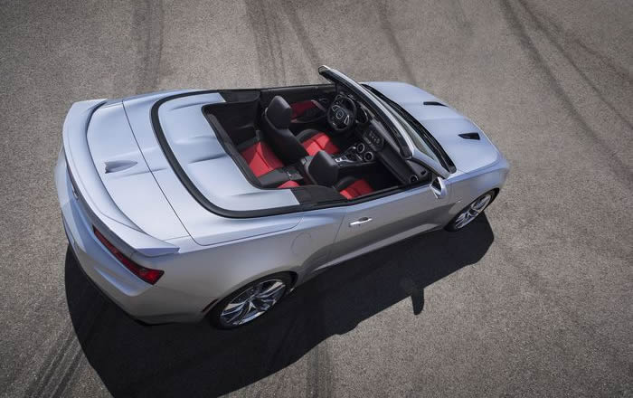 2016 Chevy Camaro Convertible Revealed Comes With Hard