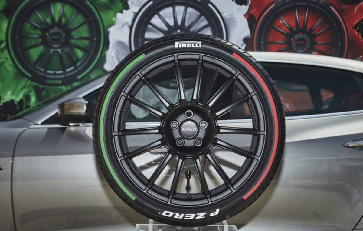 Pirelli Launches Limited Edition Tires That Come With The Italian Flag S Colors On The Sidewall