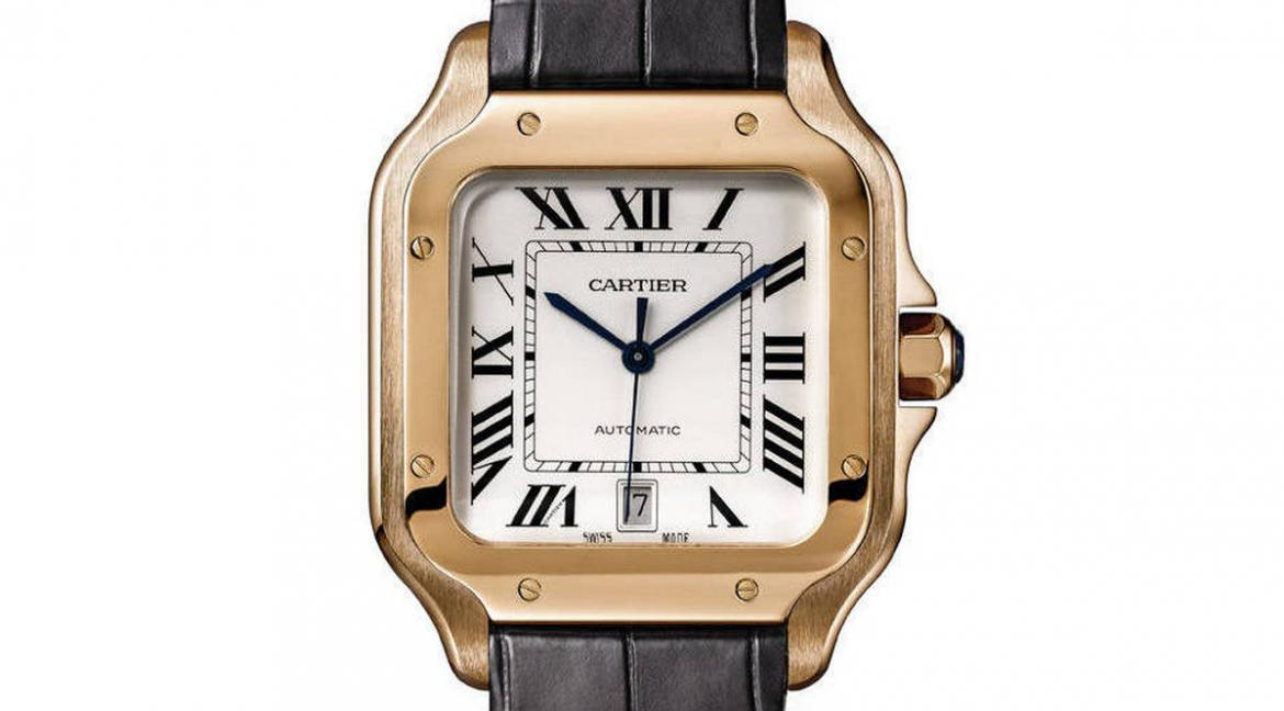 Cartier s new Santos De Cartier watch collection will be available     Mr Porter  the menswear counterpart to the popular online shopping  destination Net a Porter  will be the launch site for a collection of Cartier  watches