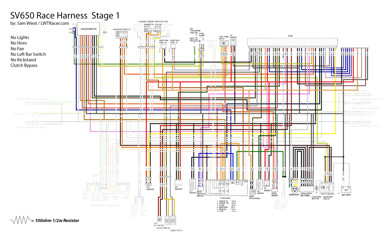 Stage Pin Wiring Diagram