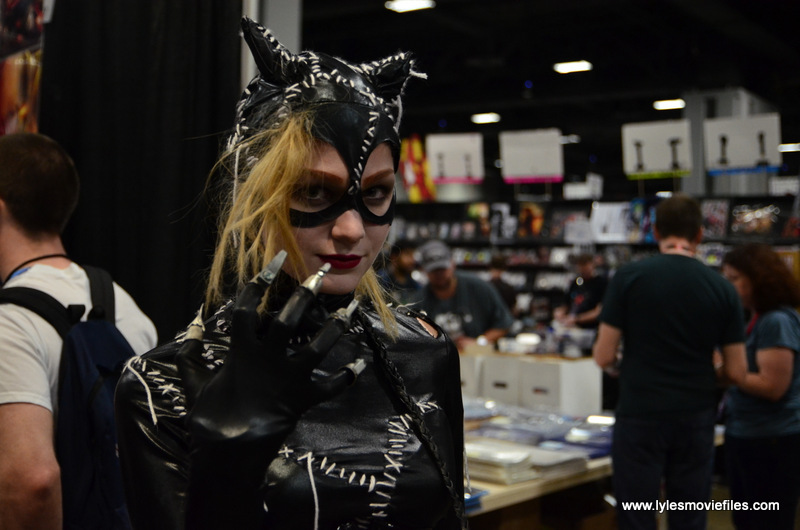 Awesome Con 2017 Day 2 cosplay - Batman Returns Catwoman ...