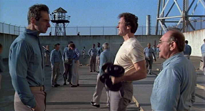 Sz 246 K 233 S Alcatrazb 243 L Escape From Alcatraz 1979 Smoking