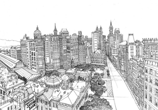 new york coloring pages # 59