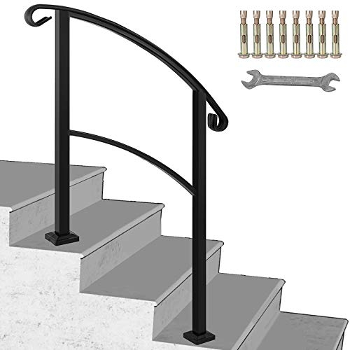 Best Stair Handrails Buying Guide Gistgear | Stair Rails For Elderly | Porch | Stair Climbing | Stainless Steel | Stair Climber | Cmmc Handrail