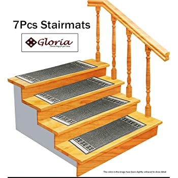 Stair Treads Carpet Rubber Backing – Stair Runners For Steps   Stair Treads And Runners   Flooring   Hardwood   Staircase   Bullnose Carpet Runners   Treads Carpet