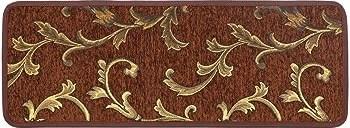 Seloom Non Slip Stair Treads Carpet Set Of 7 Blended Jacquard   Soloom Carpet Stair Treads   Blended Jacquard   Amazon   Beige   Mat   Flooring