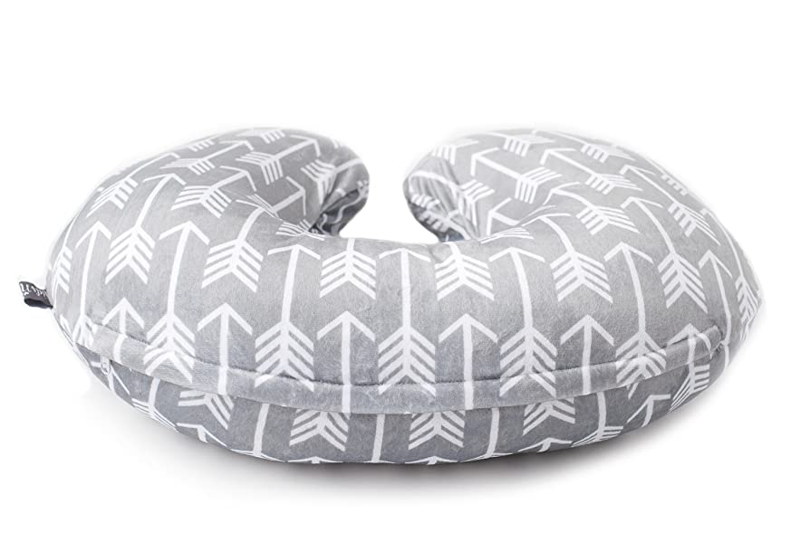 uTLPPSikSZql. UX873 TTW - Minky Nursing Pillow Cover - Arrow Pattern Slipcover