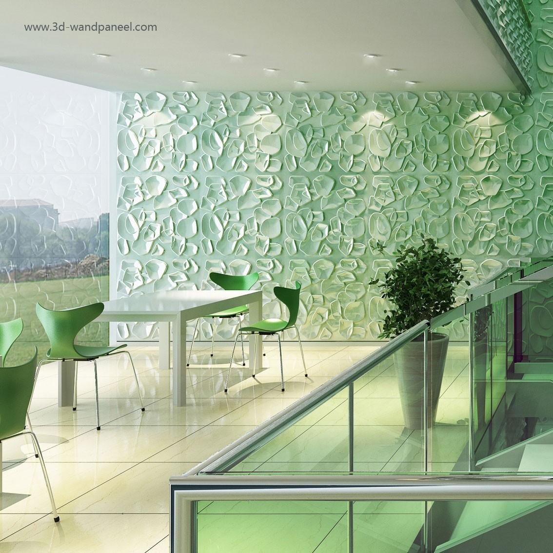 3D Wandpaneele Deckenpaneele Interior Design - Dekor DUCKWEED