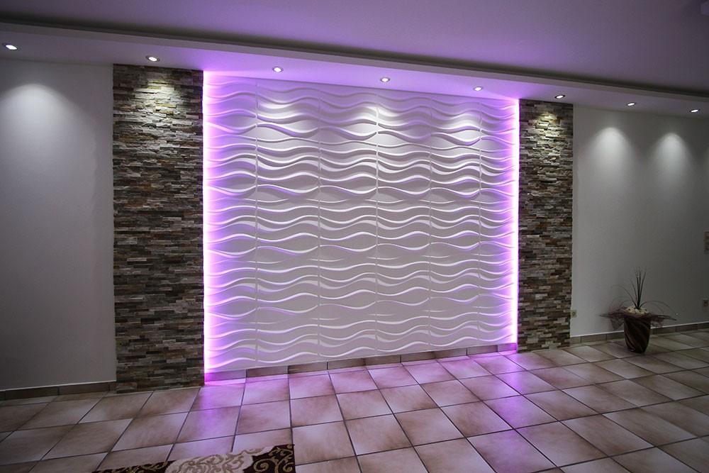 3D Wandpaneele Deckenpaneele Wandverkleidung Design Idee LAKE * 3D Paneele kaufen
