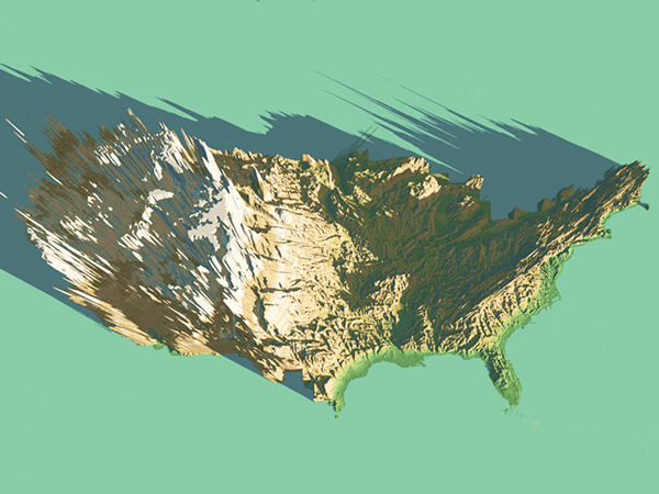 3d Topographic Map Of Usa.3d Topographic Map Usa