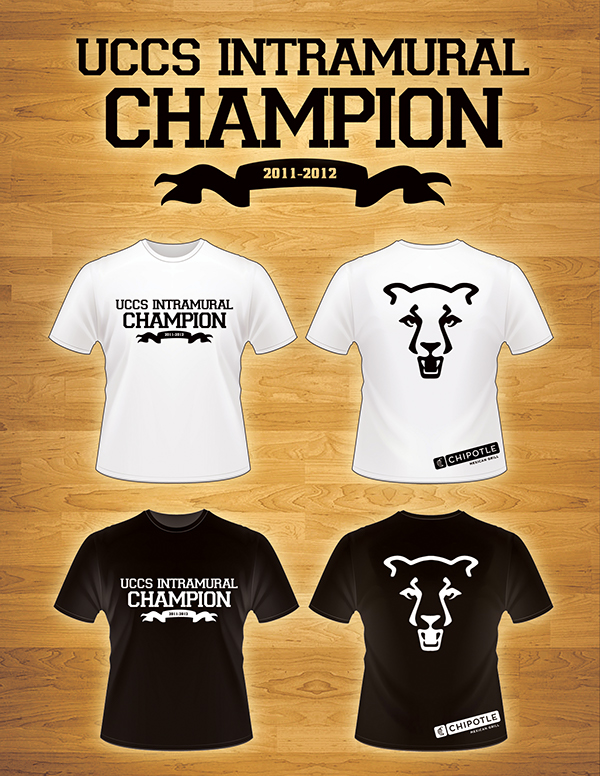 Intramural Champion T Shirt Ideas