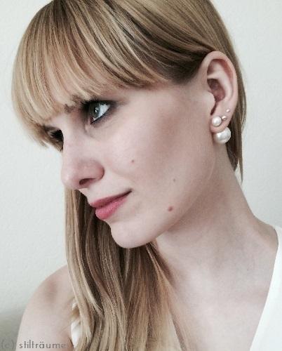 Dior Double Pearl Earrings