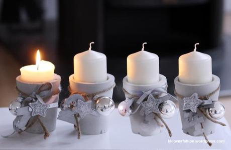 "DIY: ""Adventskranz"" mal anders (& Blogparade)"