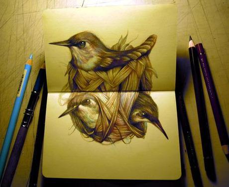 Marco Mazzoni Sketchbook Paperblog