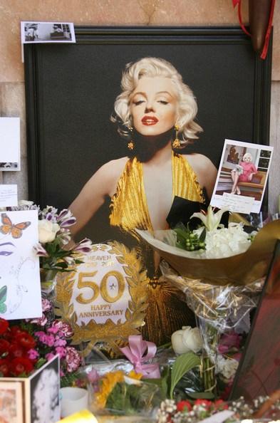 Marilyn Monroe Putting Perfume