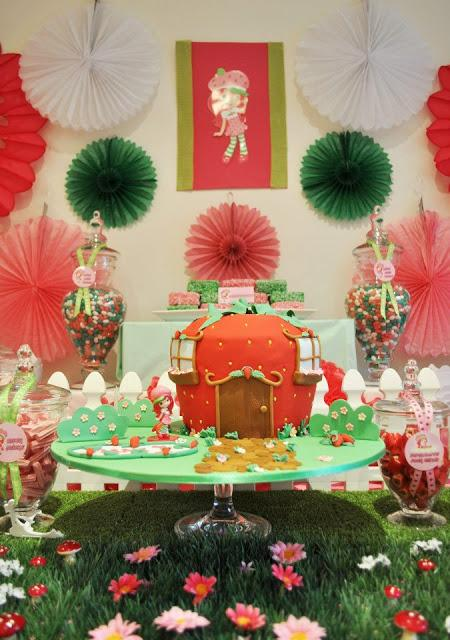 Strawberry Shortcake Party By Miss Deliciouza Candy