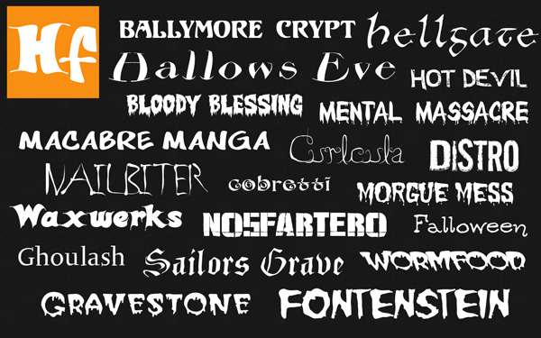 free halloween fonts # 15