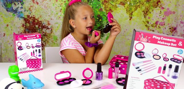 Pretend Makeup Set, Great Play Cosmetic, Nastia Reviews, Kids Makeup